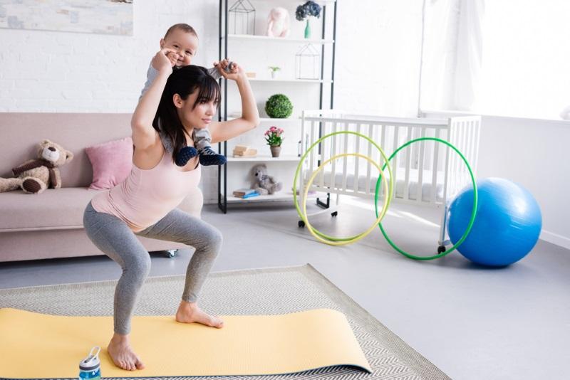 упражнение для поясницы в домашних условиях