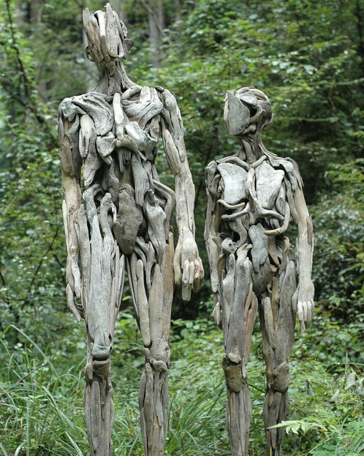Криповые скульптуры Nagato Iwasaki (трафик)