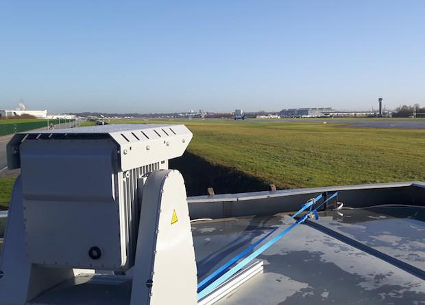 Систему защиты от беспилотников испытали в немецком аэропорту