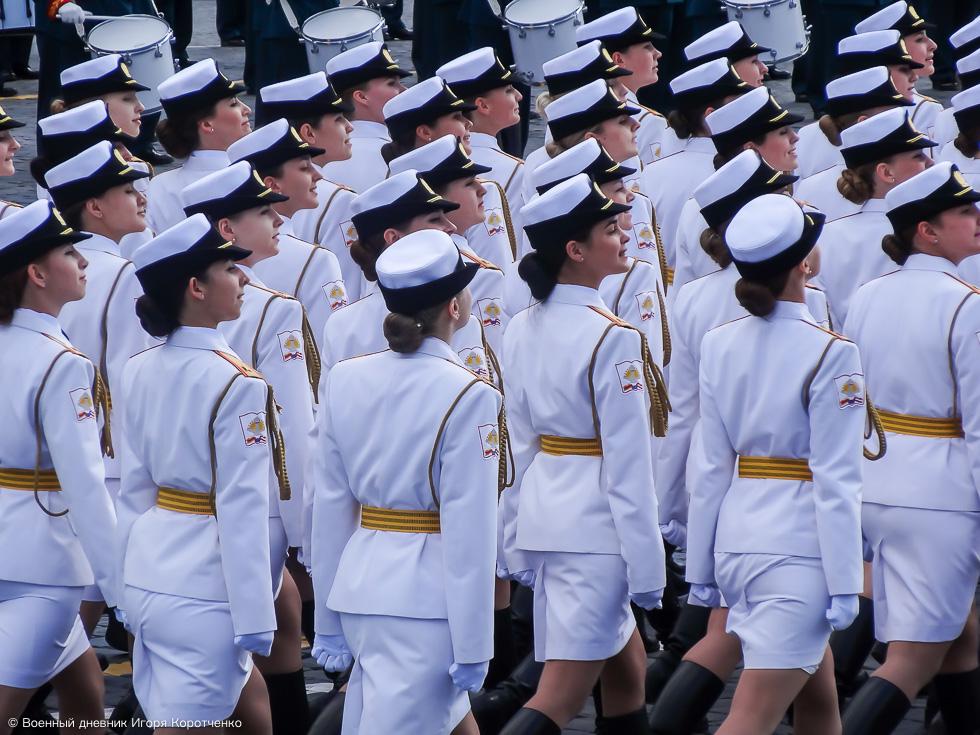 Женщины в Российской армии: умные, стильные и красивые