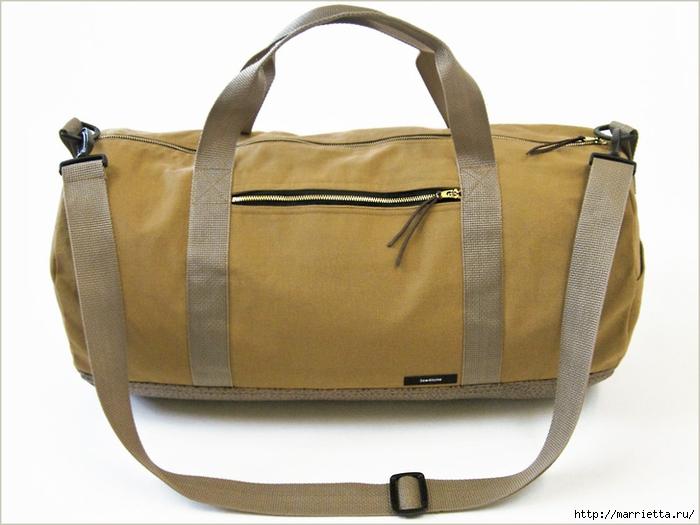 Сшить спортивную сумку мастер класс
