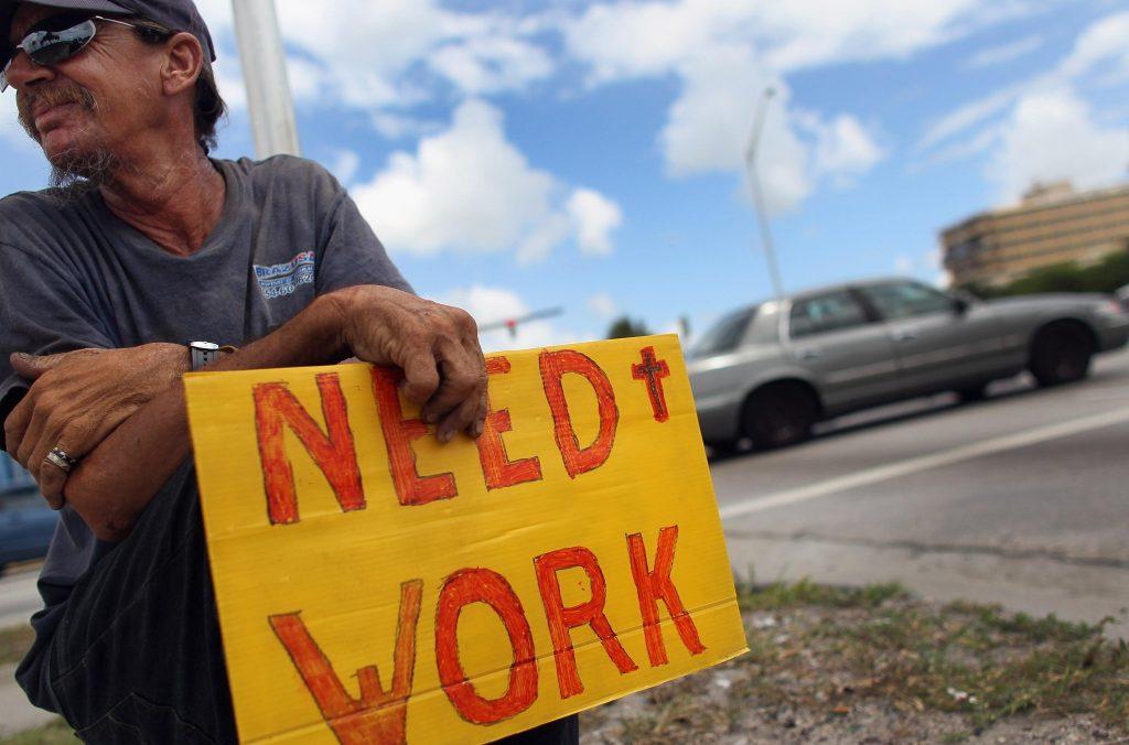 Уровень безработицы зашкалив…