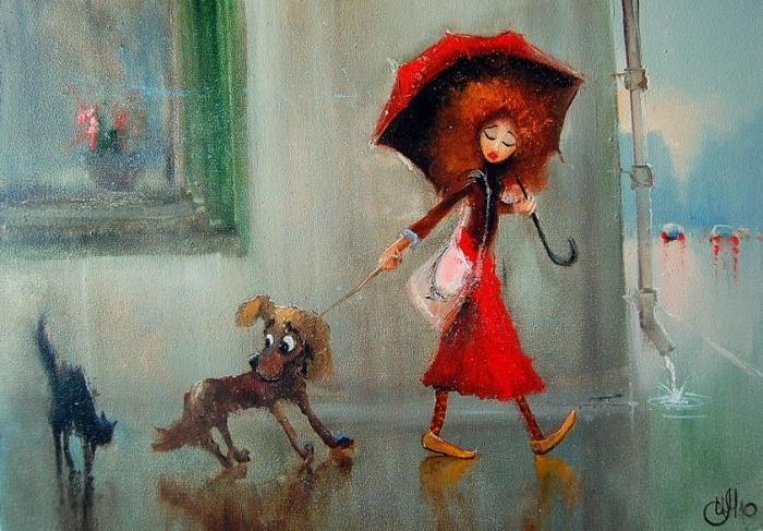 """""""Пропала жена. Ушла гулять с собакой и не вернулась"""". Прочитал объявление, вспомнил Вову..."""