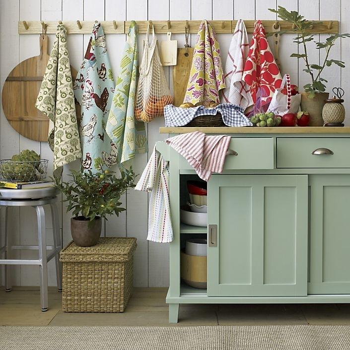Как отстирать и поддерживать идеальное состояние кухонных полотенец