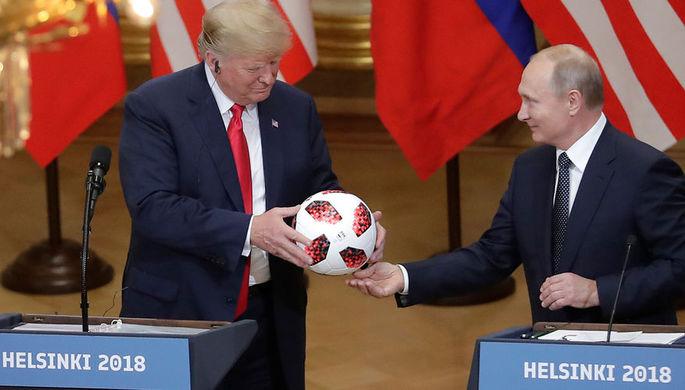 Politico рассказал о новом мировом порядке после встречи Путина и Трампа