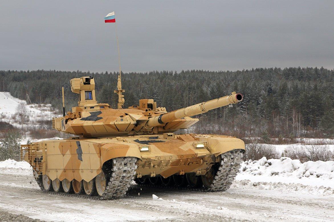 В США дали оценку «смертоносному» российскому танку Т-90МС