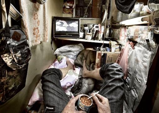 Жалуетесь, что жилищные условия убогие у вас? Ну, сравните — доступное жилье в Гонконге