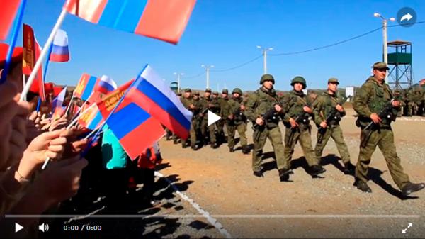 Российско-монгольские военные учения «Селенга-2018» начались в Бурятии