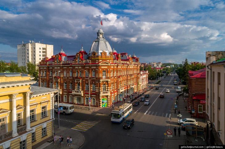 Томск с высоты— сибирский город студентов