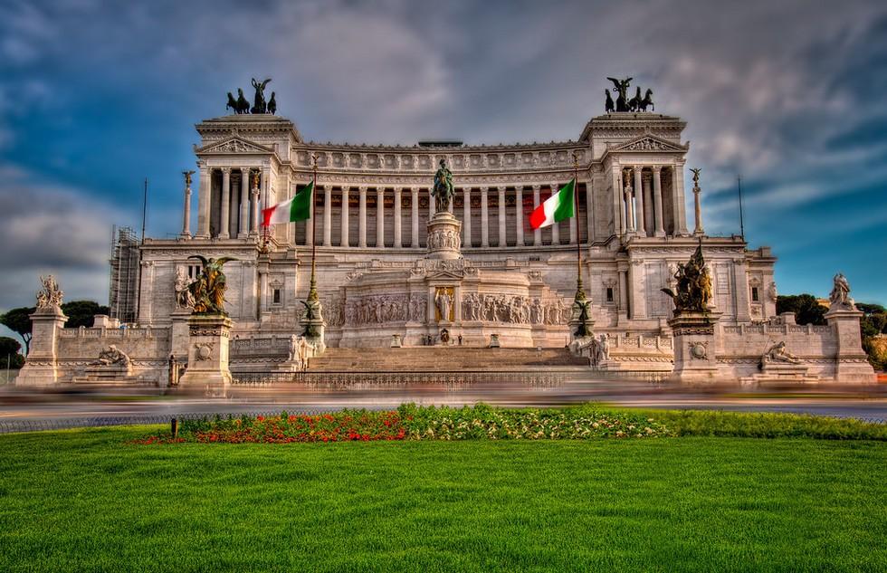 Монумент Витториано. Рим. Италия.
