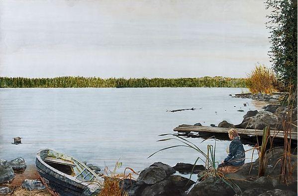 Константин Романов. Пейзаж в акварели. Очарование
