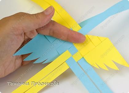 Мастер-класс Поделка изделие Плетение Плетёные птички Бумага фото 10