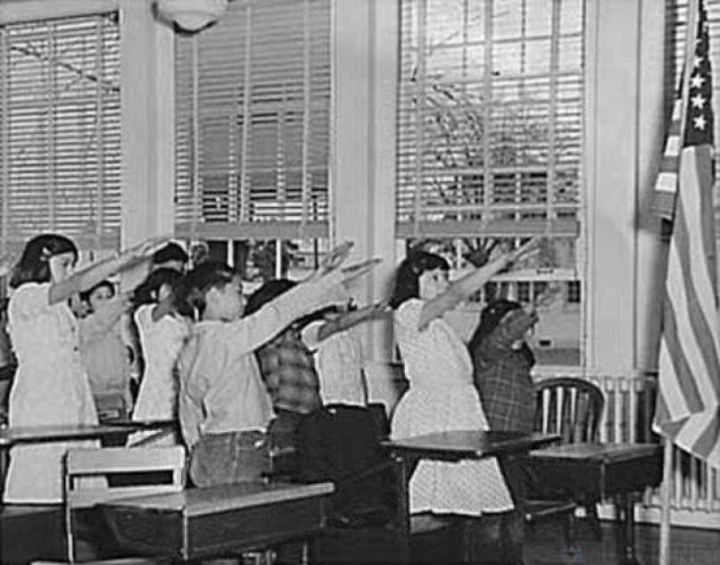 Как раньше американские школ…
