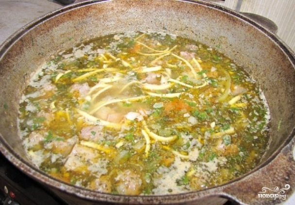 Мохора, потрясающий узбекский суп .