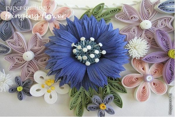 Цветы мастер-класс