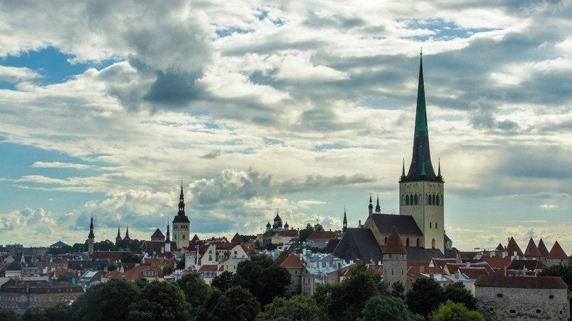Прекрасный город Таллинн