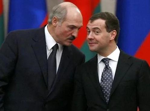 Лукашенко выразил свое недовольство Дмитрию Медведеву
