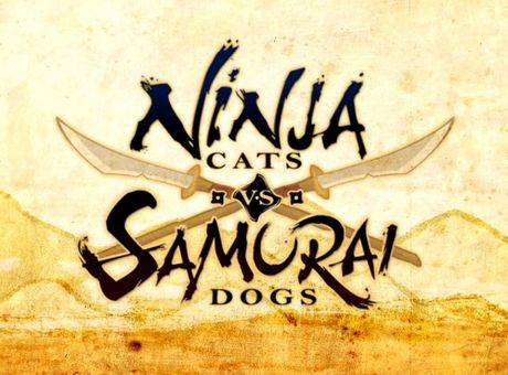 ИГРЫ НА ТЕЛЕФОН 2017 —  Ninja Cats vs. Samurai Dogs, PAPERAMA