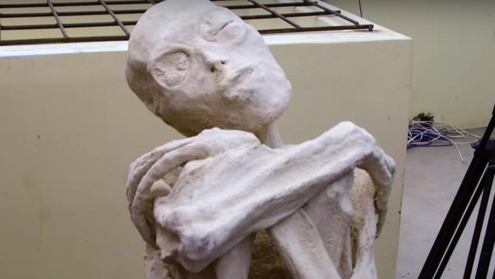 Сенсация! В Перу нашли мумию пришельца