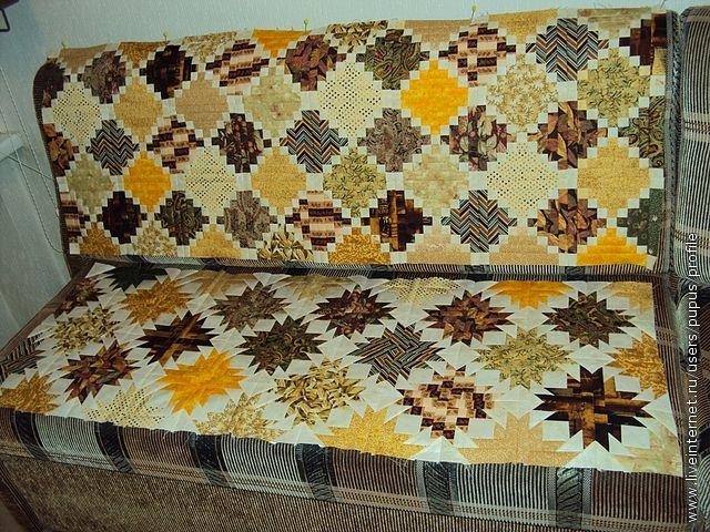 сиденье сделано в другой технике