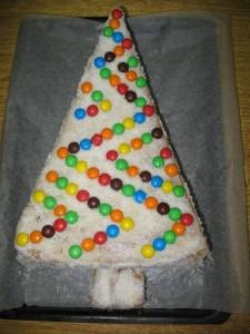 Торт «Новогодняя ёлка»