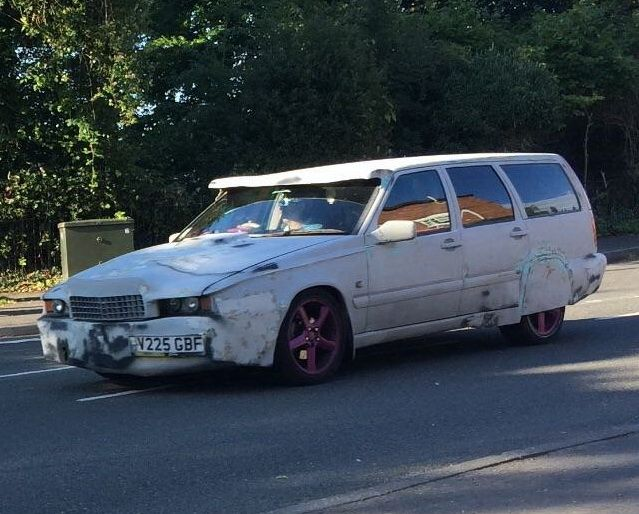 """Тюнинг Франкенштейна: самая жуткая """"доработка"""" универсала Volvo V70"""