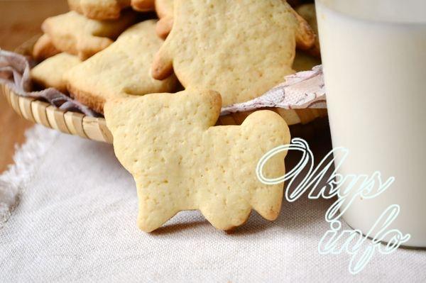 Печенье из молока на скорую руку
