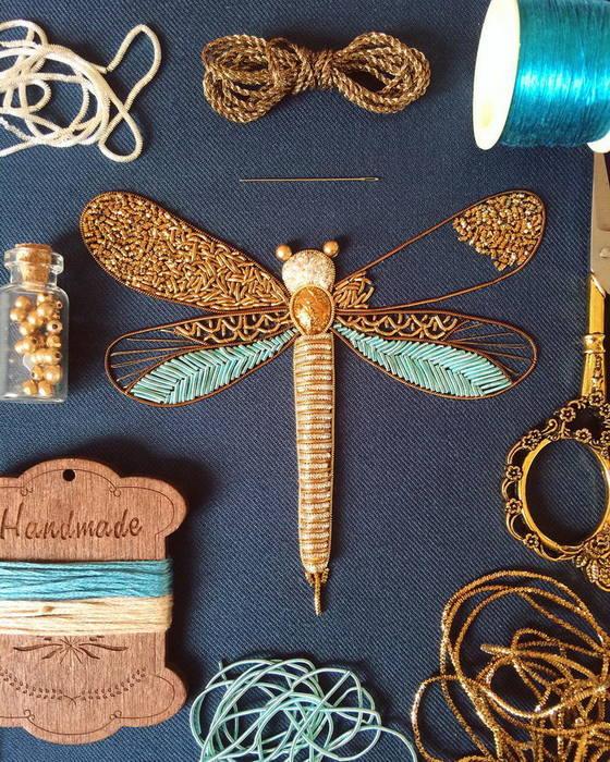 Тончайшая работа — вышивка мастерицы Хумайра Бинт Алтаф (Humayrah Bint Altaf)