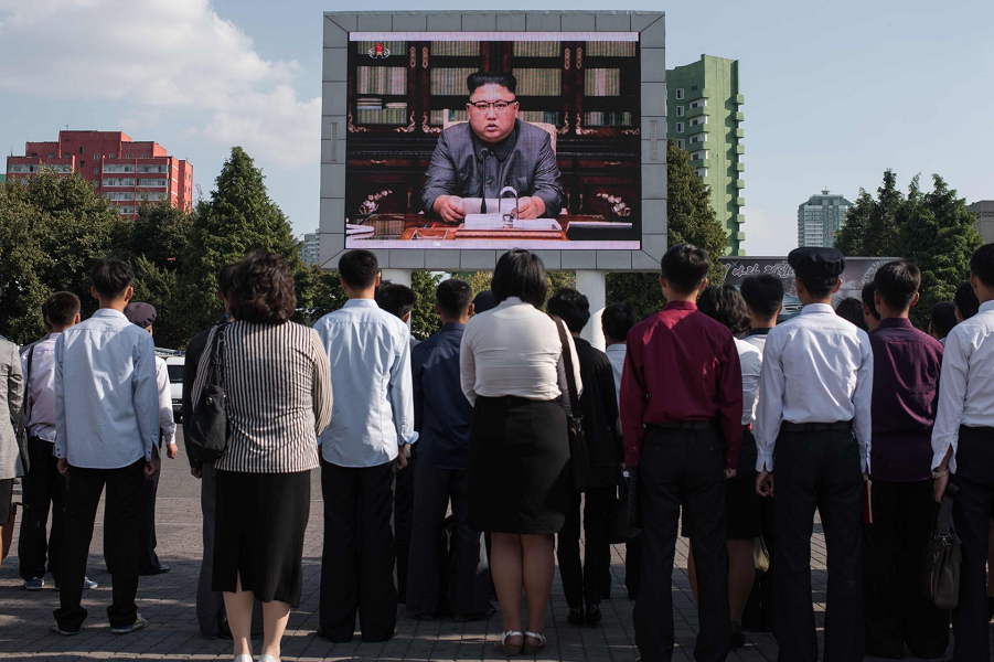 """""""Миролюбивая и ответственная"""" Северная Корея может разбомбить Вашингтон"""