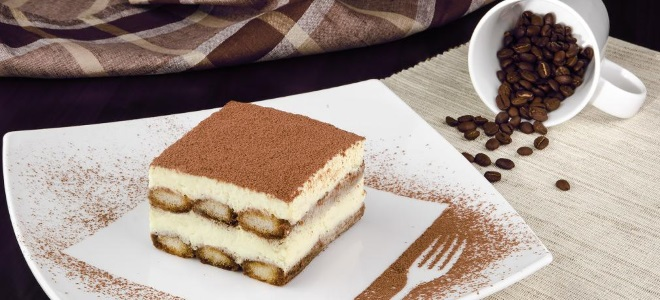 тирамису из печенья и творога без выпечки