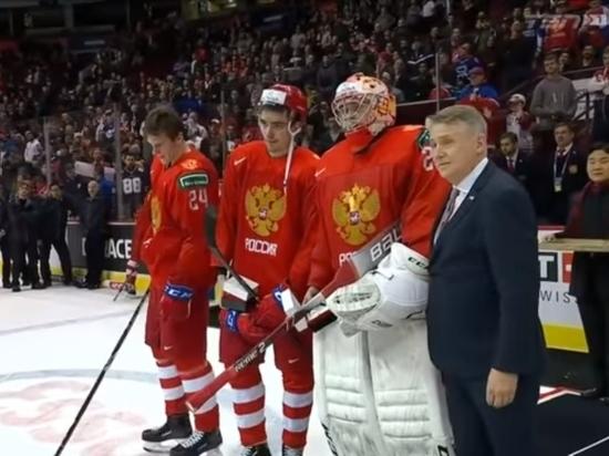 Капитан сборной России обматерил трибуны после проигрыша США