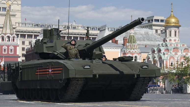 """Молния! Немцы сделали новейший путинский танк """"Армата"""" неэффективным!"""