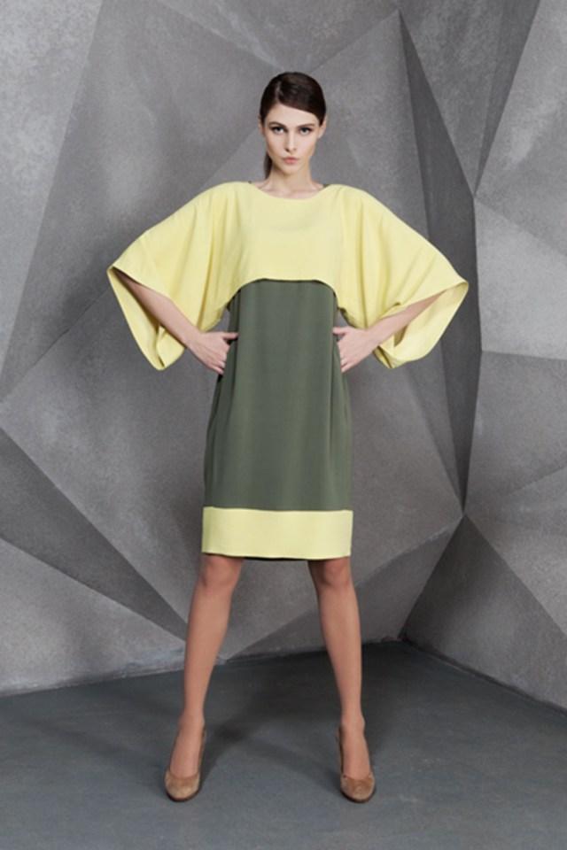 Фасон платья кимоно