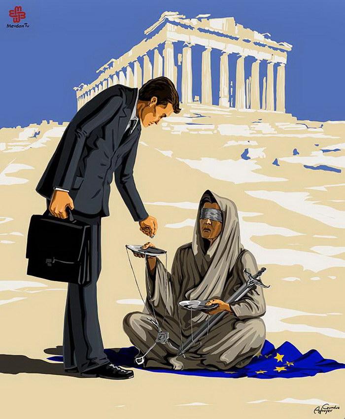 «Смерть Фемиды»: иллюстрации…