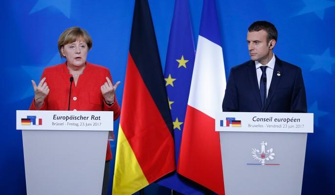 Меркель устроила Макрону публичную порку