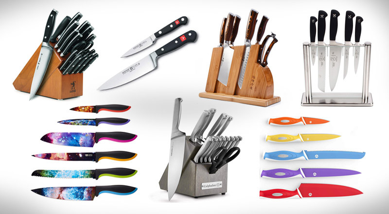 15 Sets Of The Best Kitchen Knives On The Market Today ...