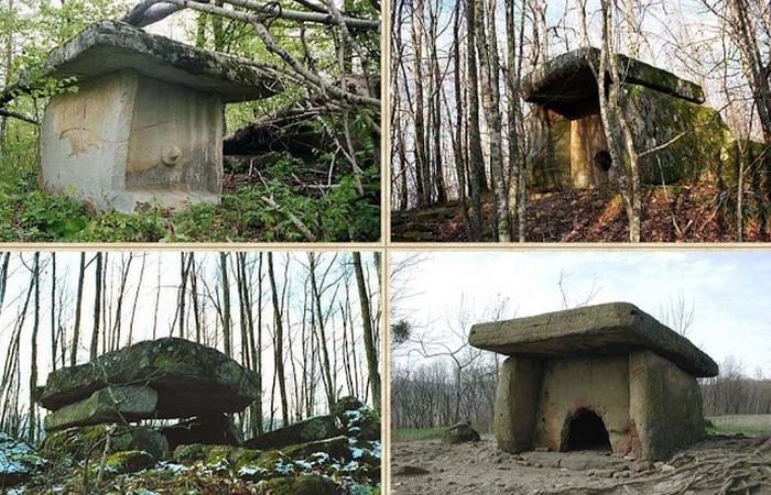 Кавказские дольмены.  Таинственные древние мегалиты, которые будоражат умы современных археологов