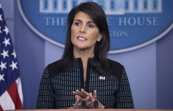 Смириться и помириться: Ники Хейли предлагает Палестине и Израилю мирно узаконить решение Трампа по Иерусалиму