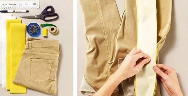 Знатные трюки! Как расширить или удлинить одежду: варианты и идеи для реализации