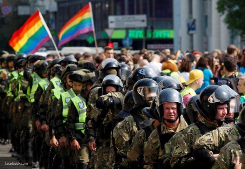 """Побыли европейцами и хватит: """"Марш равенства"""" в Киеве шел всего 20 минут"""