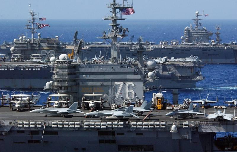 ВМС США: новыми вызовами XXI века являются Россия и Китай