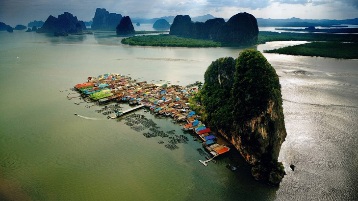 Ко Паньи – деревня на воде в Таиланде