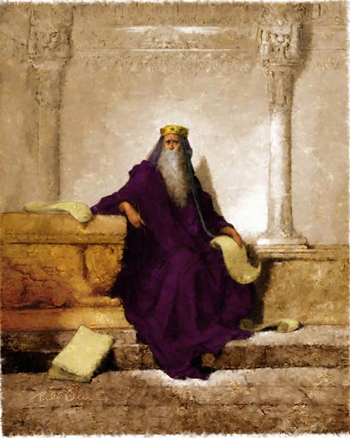 Три легенды о кольце царя Соломона ....но суть одна.