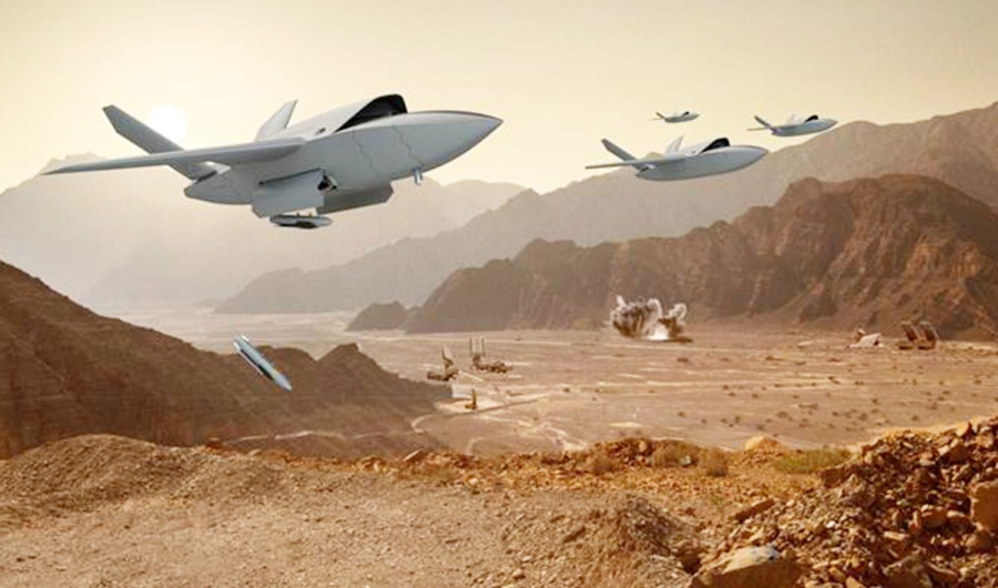 Компания из США представила в Ле Бурже сверхзвуковой беспилотник «Валькирия»