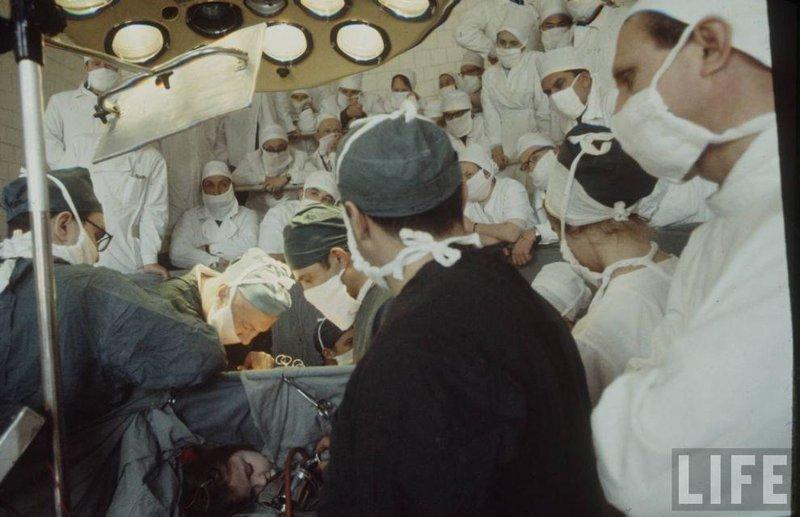 Детская хирургия. СССР, качество, медицина, фото