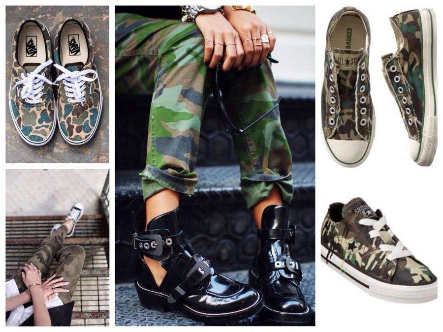 Почему обувь милитари в тренде?