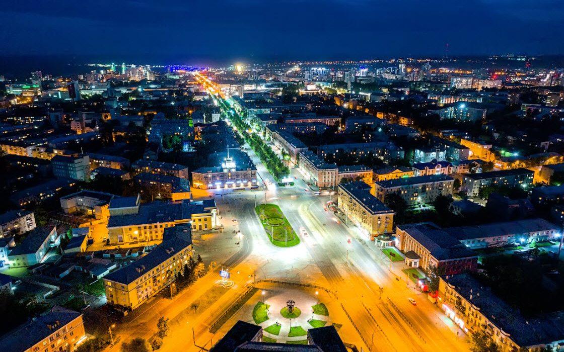 Барнаул с высоты: столица Ал…