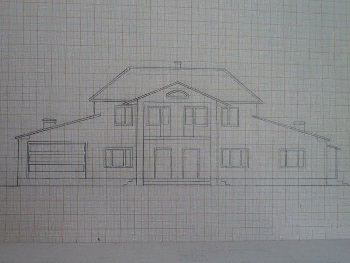 Своими руками: постройка коттеджа (105 фото)