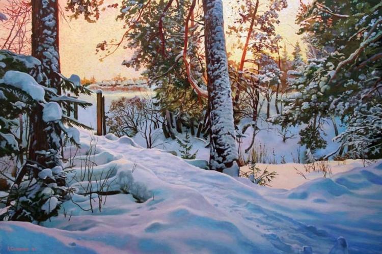 Бесконечная красота и разнообразие родной природы · пейзажи Александра Самохвалова