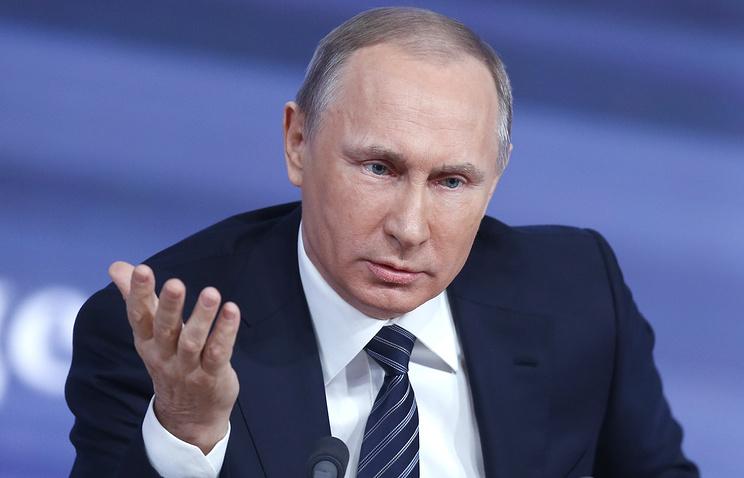 """Путин о """"секретах"""" Трампа: Лавров не поделился - объявим ему выговор"""